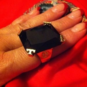 Authentic Tory Burch cocktail ring